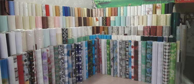 Cửa hàng bán giấy dán kính